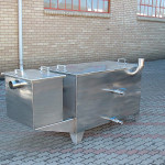Highest quality stainless steel construction ensures many years of hassle free operation.